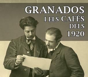 Granados i els cafès dels 1920 - Rutes Musicals - Ruta Granados - Divulgació Musical a Barcelona