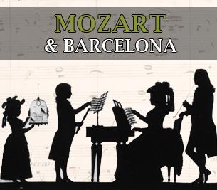 Mozart & Barcelona - Rutes Musicals - Ruta Mozart - Divulgació Musical a Barcelona